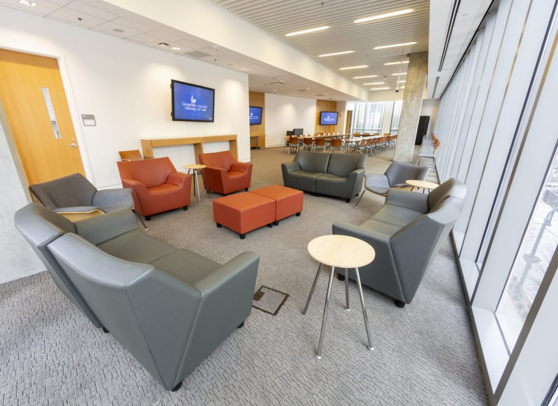 Faculty Commons Lounge Space