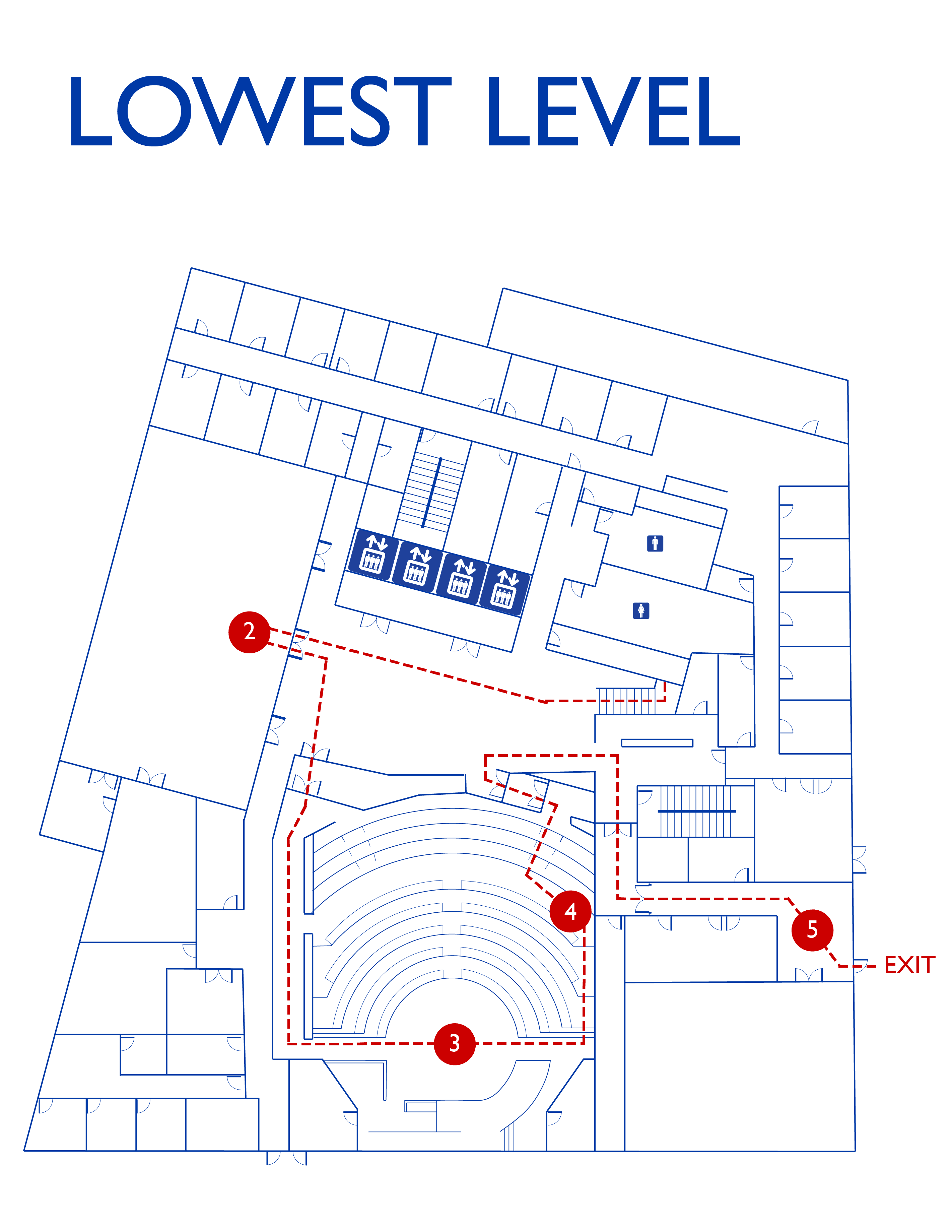 hooding ceremony map